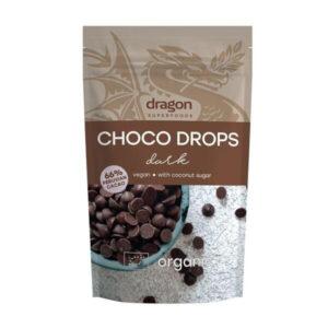 Шоко капки - черен шоколад БИО 250гр