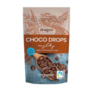 Шоко капки - млечен шоколад БИО 250 гр