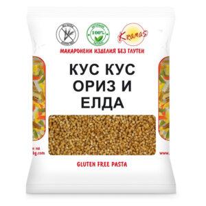 """Кус кус ориз и елда """"Крамас"""" 250 гр"""