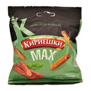 Сухарчета Кириешки Макс Колбасчета 40гр