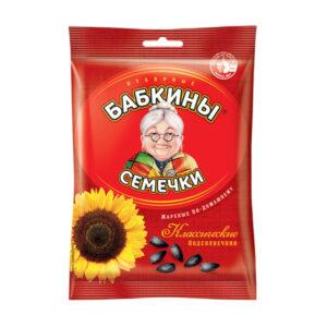Слънчогледови семки Бабкины семечки 190 гр