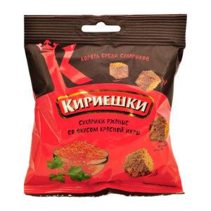Сухарчета Кириешки Червен хайвер 40гр
