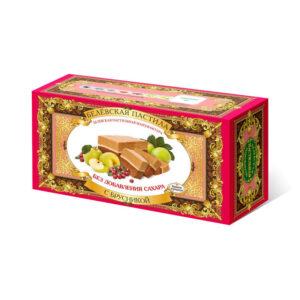 Пастила Белевская без добавена захар Червена боровинка 100 гр.