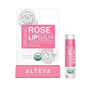 Балсам за устни Роза Alteya Organics БИО 5гр